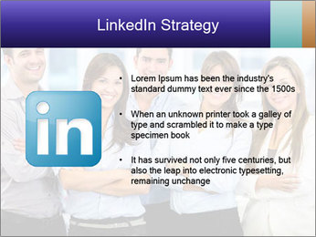 Happy business team PowerPoint Template - Slide 12