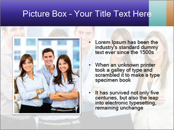 Happy business team PowerPoint Template - Slide 13