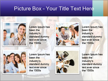 Happy business team PowerPoint Template - Slide 14