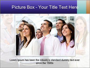 Happy business team PowerPoint Template - Slide 16