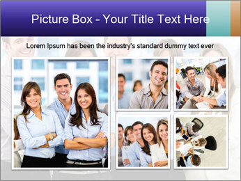 Happy business team PowerPoint Template - Slide 19
