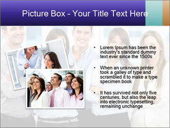 Happy business team PowerPoint Template - Slide 20