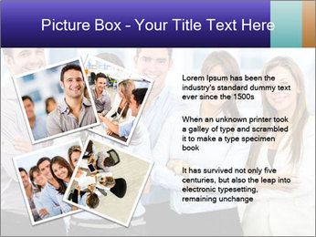 Happy business team PowerPoint Template - Slide 23