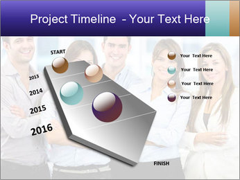 Happy business team PowerPoint Template - Slide 26