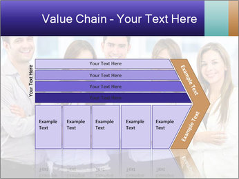 Happy business team PowerPoint Template - Slide 27