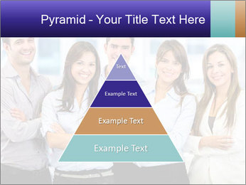 Happy business team PowerPoint Template - Slide 30