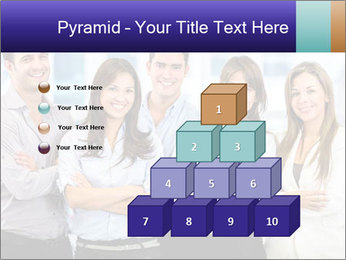 Happy business team PowerPoint Template - Slide 31