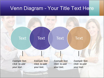 Happy business team PowerPoint Template - Slide 32