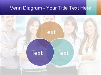 Happy business team PowerPoint Template - Slide 33