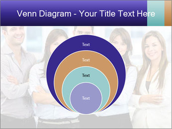 Happy business team PowerPoint Template - Slide 34