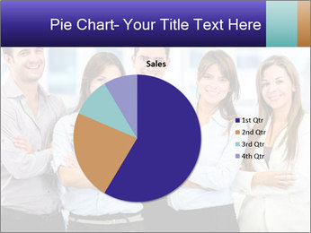 Happy business team PowerPoint Template - Slide 36