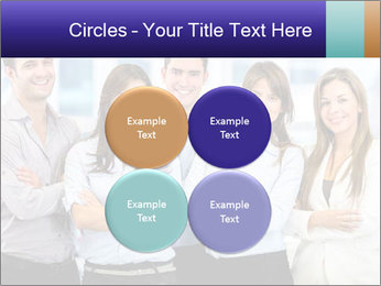 Happy business team PowerPoint Template - Slide 38