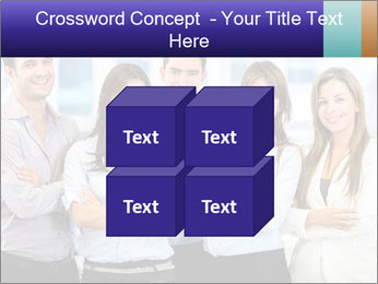 Happy business team PowerPoint Template - Slide 39