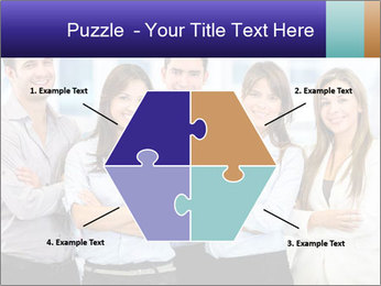 Happy business team PowerPoint Template - Slide 40