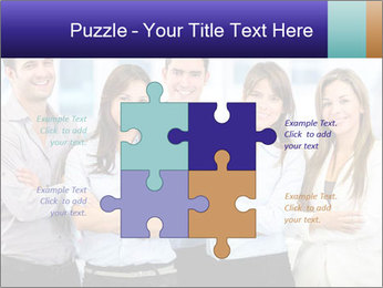 Happy business team PowerPoint Template - Slide 43