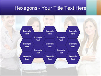 Happy business team PowerPoint Template - Slide 44
