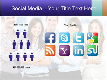 Happy business team PowerPoint Template - Slide 5