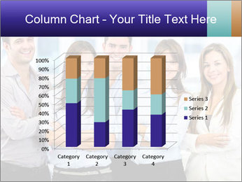 Happy business team PowerPoint Template - Slide 50