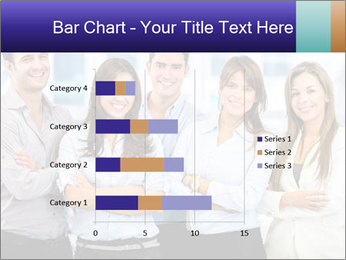 Happy business team PowerPoint Template - Slide 52