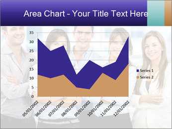 Happy business team PowerPoint Template - Slide 53