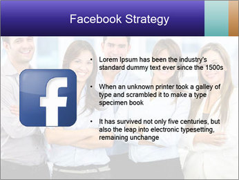 Happy business team PowerPoint Template - Slide 6