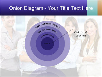 Happy business team PowerPoint Template - Slide 61