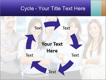 Happy business team PowerPoint Template - Slide 62