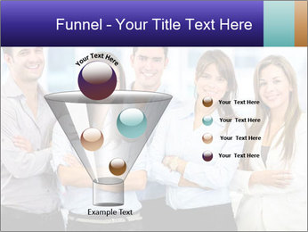 Happy business team PowerPoint Template - Slide 63