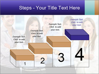 Happy business team PowerPoint Template - Slide 64