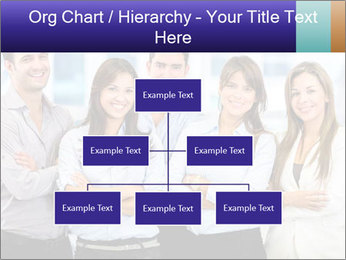 Happy business team PowerPoint Template - Slide 66