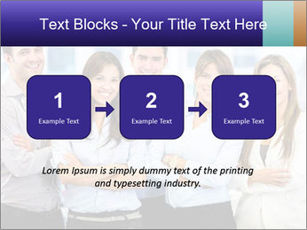 Happy business team PowerPoint Template - Slide 71
