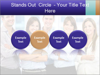 Happy business team PowerPoint Template - Slide 76