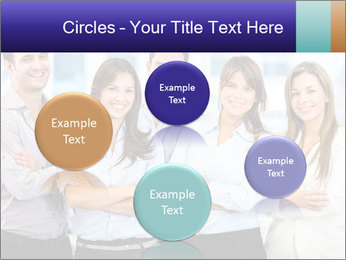 Happy business team PowerPoint Template - Slide 77