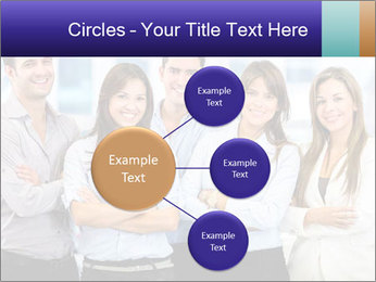 Happy business team PowerPoint Template - Slide 79