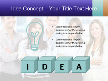 Happy business team PowerPoint Template - Slide 80