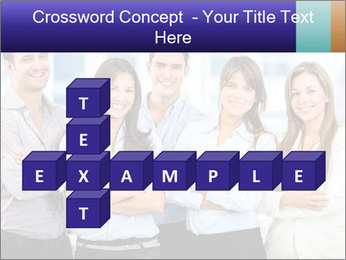 Happy business team PowerPoint Template - Slide 82