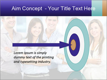 Happy business team PowerPoint Template - Slide 83