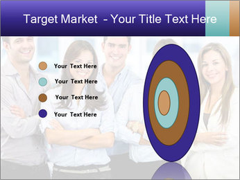 Happy business team PowerPoint Template - Slide 84