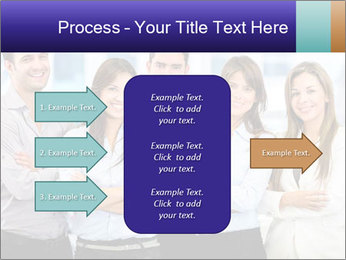 Happy business team PowerPoint Template - Slide 85