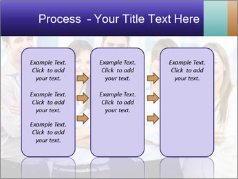 Happy business team PowerPoint Template - Slide 86