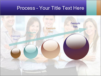 Happy business team PowerPoint Template - Slide 87
