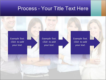 Happy business team PowerPoint Template - Slide 88