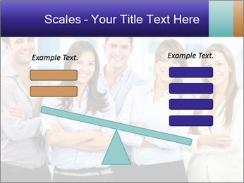 Happy business team PowerPoint Template - Slide 89