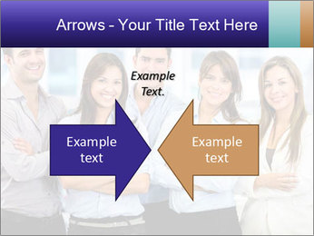 Happy business team PowerPoint Template - Slide 90