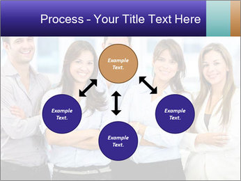 Happy business team PowerPoint Template - Slide 91