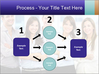 Happy business team PowerPoint Template - Slide 92