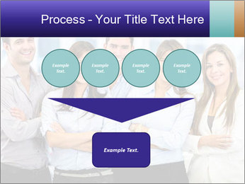 Happy business team PowerPoint Template - Slide 93
