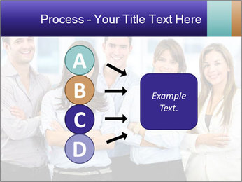 Happy business team PowerPoint Template - Slide 94