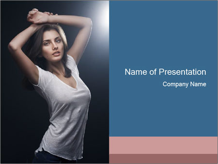 Fashion shoot PowerPoint Templates