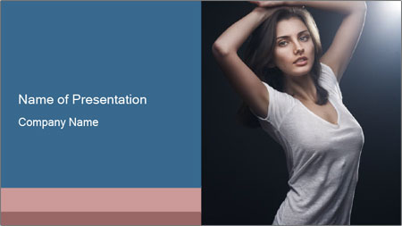 Fashion shoot PowerPoint Template